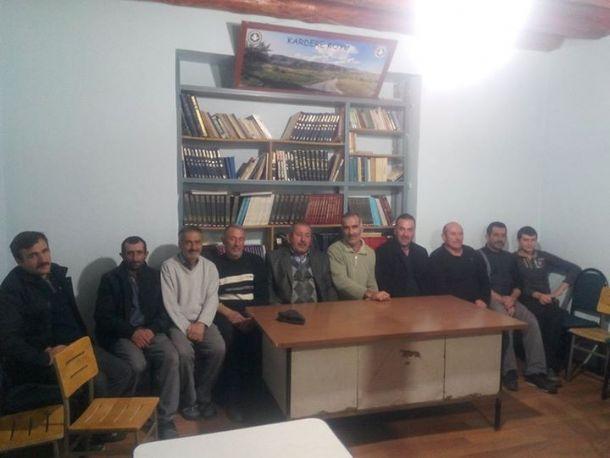 Komşu Köyler Birliği Toplantısı